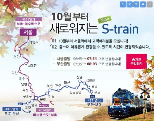 KR Pass-南道海洋觀光列車