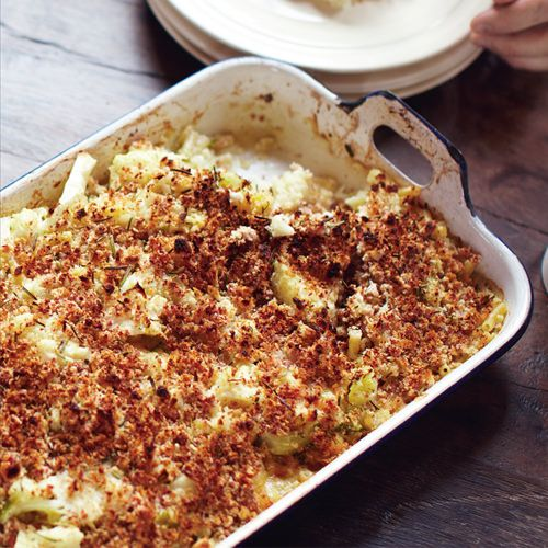 Jamie Oliver: bloemkool met macaroni - recept - okoko recepten