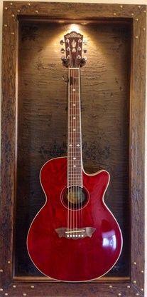 "Guitar Display Case """