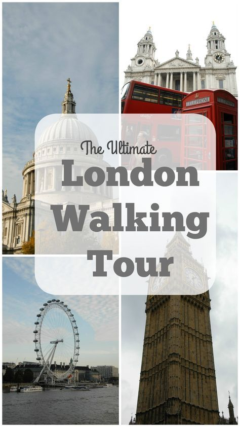 The ultimate London walking tour - see all the sites on your next trip to London! MyViewFromtheMiddleSeat.com