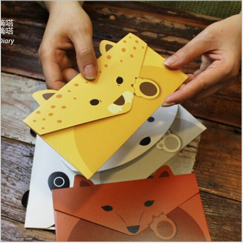 80pcs/lot Creative Vintage Animal design DIY Multifunction Kraft paper Tag Letter/Envelope/Green card 7 design for choose-in Paper Envelopes from Office & School Supplies on Aliexpress.com | Alibaba Group