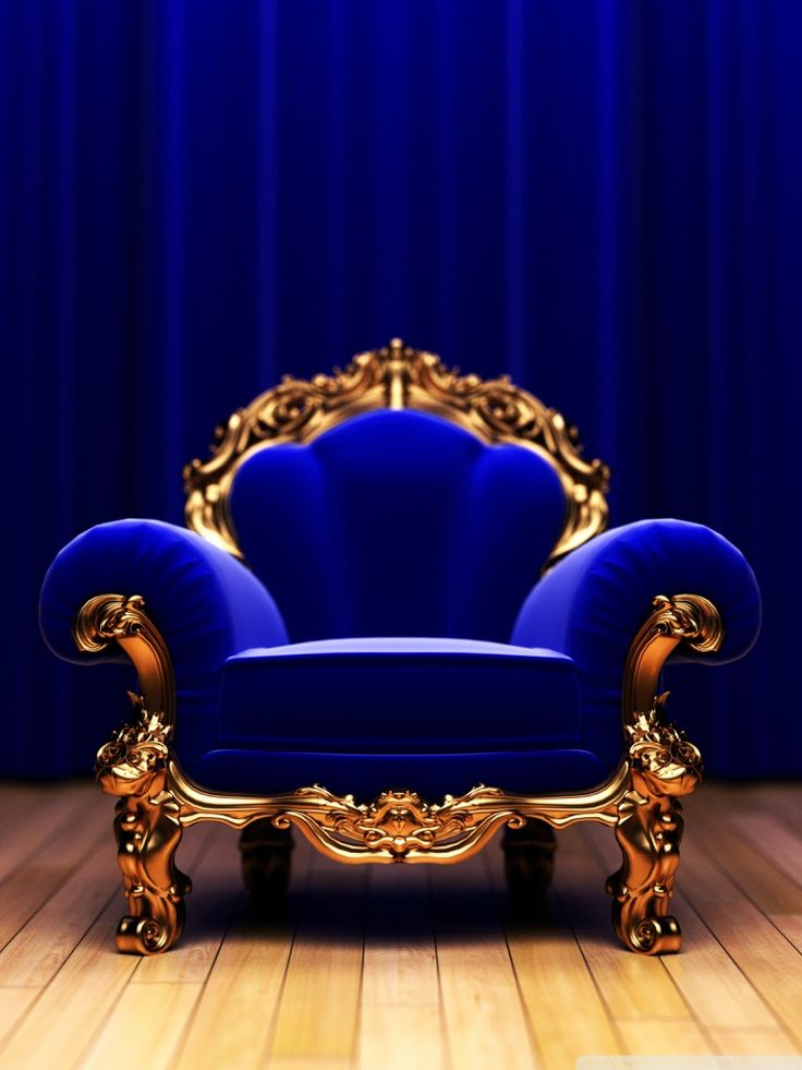 Chairs Royal Blue And Blue Chairs On Pinterest