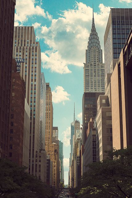 Cotton Clouds | Flickr  Manhattan, New York, NYC, Chrysler Building