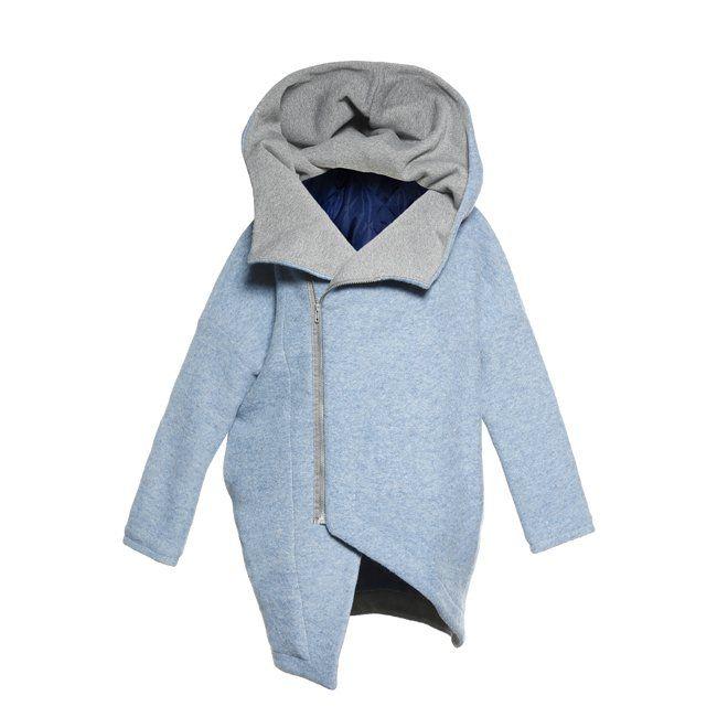 ASYMMETRY HOOD - Płaszcz z kapturem (sprzedawca: Nubee), do kupienia w DecoBazaar.com