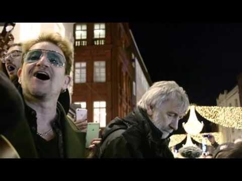 Bono Busks in Dublin | News | Pitchfork