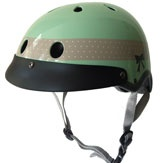Loving this girly cycling helmet from Cycle Fashion By Sawako Furuno