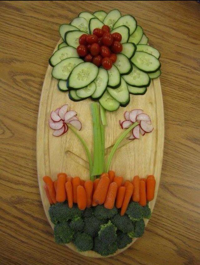 Flower veggies