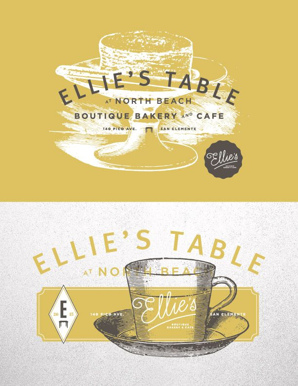 Ellie's Table  //  #LogoDesign #GraphicDesign #Inspiration