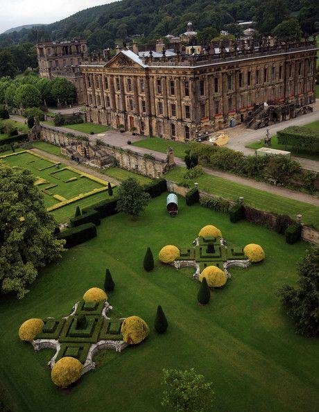 Chatsworth House ~ Derbyshire, England
