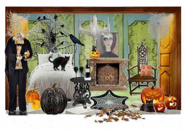 Check out this moodboard created on @olioboard: Happy Halloween by valerygallery