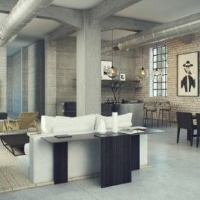 Living Room Design, Industrial Interior Idea: Designing Home With Industrial Style