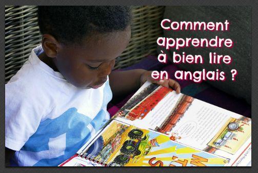 Bref guide pour aider les enfants dans l'apprentissage de la lecture en anglais (langue étrangère ou langue seconde).