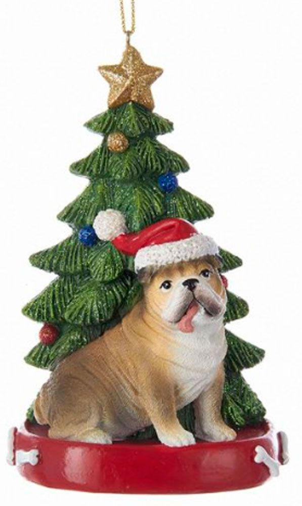 Bulldog Christmas Tree Ornament - | www.DogLoverStore.com | Pinterest | Dog  lovers, Dogs and Christmas tree ornaments - Bulldog Christmas Tree Ornament - Www.DogLoverStore.com