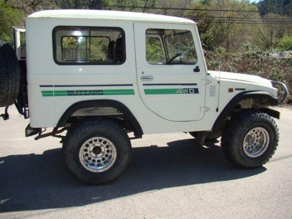 1982 Toyota 4wd FJ22 LD10 JDM Blizzard Diesel For Sale 4x4