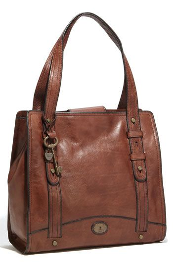 Fossil 'Vintage Reissue' Work Tote (I recently purchased a Fossil Vintage Reissue Leather handbag for $2 at a thrift shop!) Retail=$268