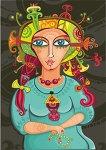 Diana Pyzhova, Vector illustration