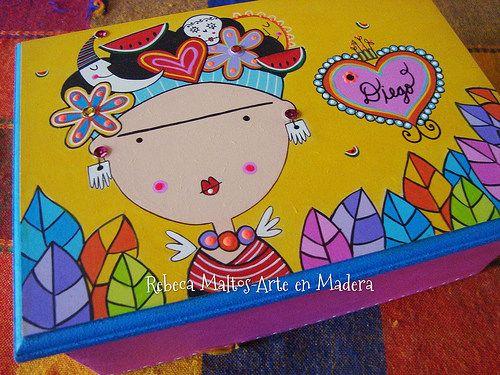 Caja Frida kahlo   rebeca maltos   Flickr