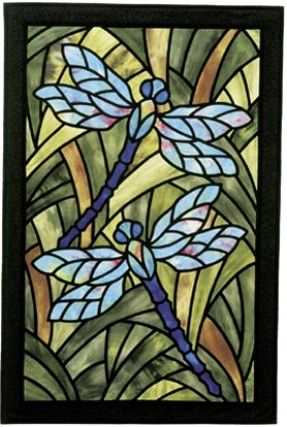 Stained Glass Applique - Foter Print on vellum for fairy house windows.MG