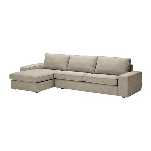 kivik sofa and chaise lounge ikea kivik is a generous seating series with a soft deep seat and. Black Bedroom Furniture Sets. Home Design Ideas