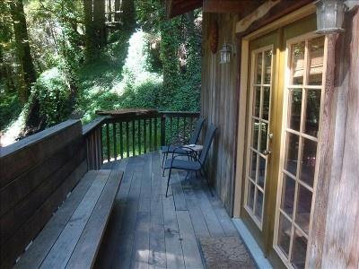 Big sur studio cabin redwood deck 228587 cabin fever for Big sur cabin e campeggi