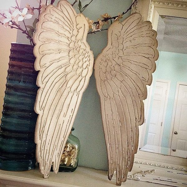 25 best ideas about angel wings wall decor on pinterest angel wings angels and white angel wings - Home Decor Wall Hangings