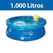 Piscina Redonda 1.000 Litros Inflavel Splash Fun Mor