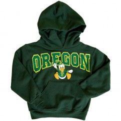 Oregon ducks hoodie with wings