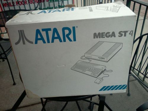 "Atari Mega ST 4 home computer, which was among the first dedicated desktop publishing computers, circa 1987. I'd never heard of this series yet a guy I knew may have been running a small town's newspaper off of a machine like this (I do know it was a highly modified Atari computer). Old-Computers.com: ""This computer was especially designed to be the cheapest publishing solution (and it was!). The photo shows the Mega ST 4 (4 MB) with a monochrome display (640 x 400), the"