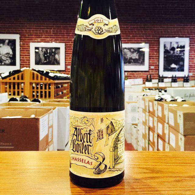 2013 Chasselas Albert Boxler - Kermit Lynch Wine Merchant
