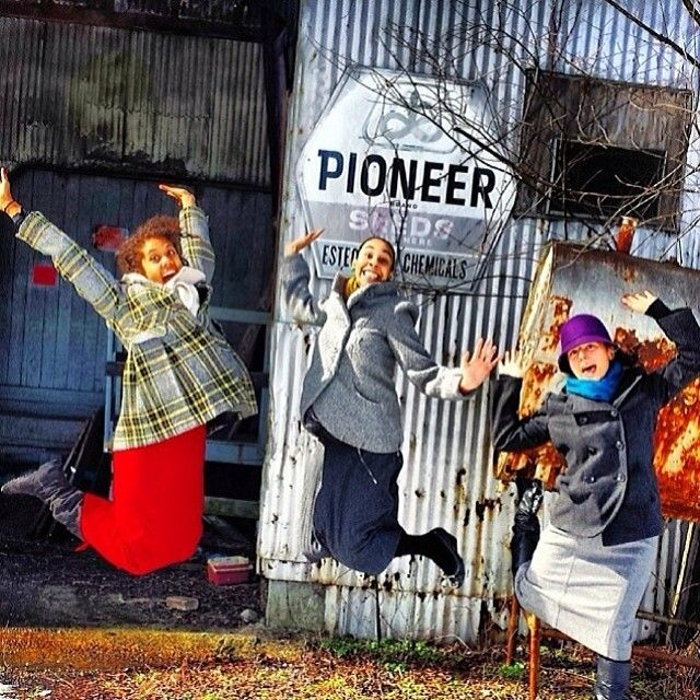 Silly sisters._ | Our sisters sure do have the pioneer spirit! - Richmond Virginia - Photo shar... | Webstagram