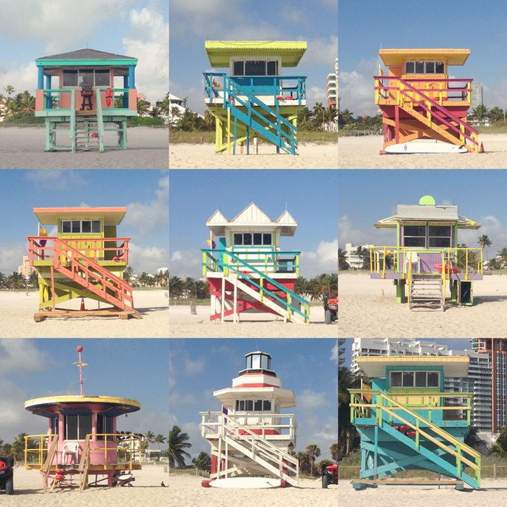 life guard stands