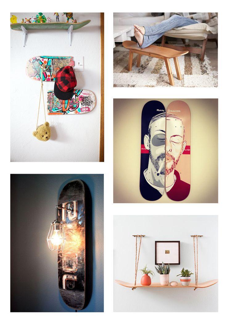 Pinterest Skate Deco