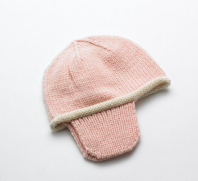 #Merino Baby hat - Pink Rose | Flordemano