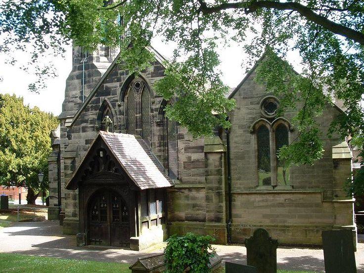 St Michaels Parish Church Main Road Brereton Staffordshire UK