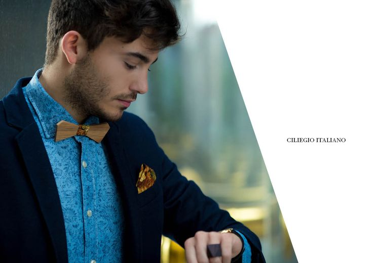 Ciliegio Italiano! Casual Collection MIDA morethangold #essence #wooddesign #bowtiewood #fashionable