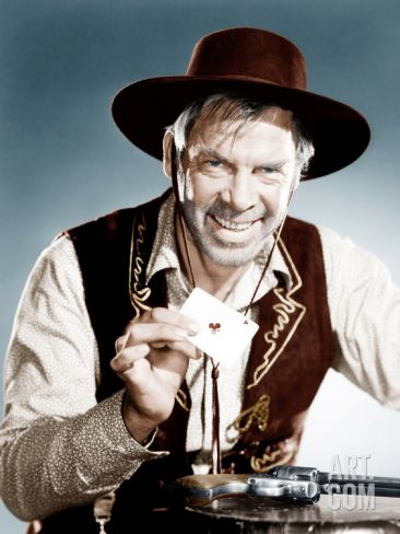 THE MAN WHO SHOT LIBERTY VALANCE (1962) - Lee Marvin as 'Liberty Valance' - Directed by John Ford - Paramount - Publicity Still.
