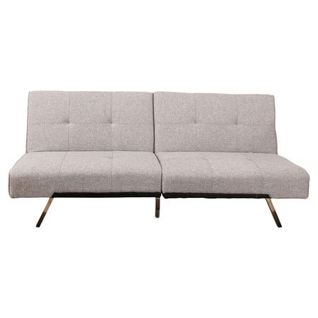 Royale 3-Seater Sofa Bed in Pale Grey jossandmain.co.uk