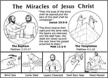 free coloring pages miracles of jesus | Miracles of Jesus Christ | Bible: Jesus and His Miracles ...