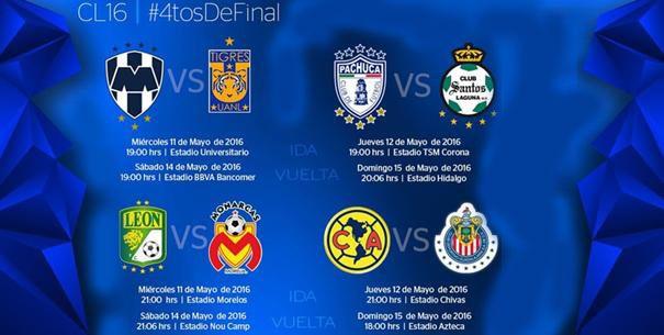 Comienza la liguilla del futbol mexicano con explosivos encuentros, disfrutalos en vivo en www.saboravallarta.com.mx