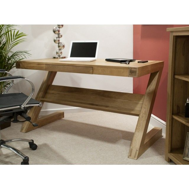 Fabulous Opus Solid Oak Z Shape Computer Desk In 2019 My Projects Download Free Architecture Designs Scobabritishbridgeorg
