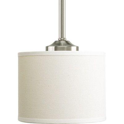 44 6Hx6W Progress Lighting Inspire 1 Light Pendant & Reviews | Wayfair