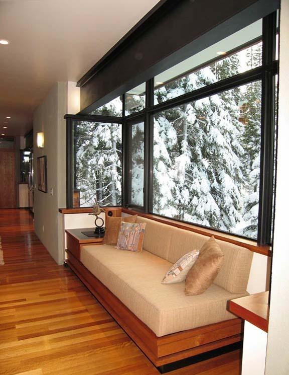 Ski Chalet, interior