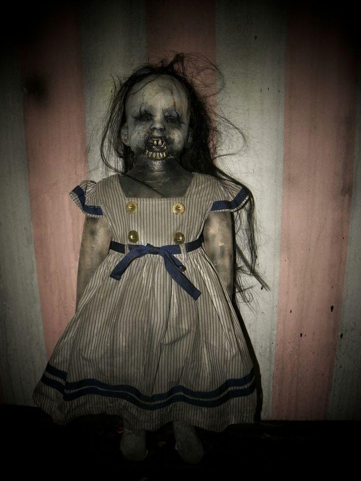 Long dress very very scary