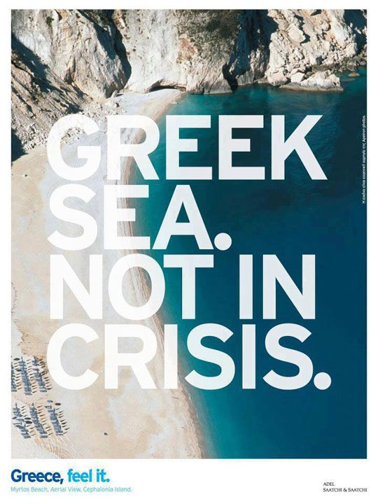 Greek Sea Not in Crisis