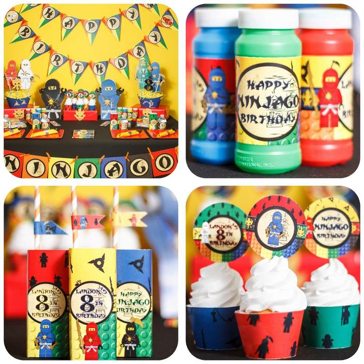 Lego Ninjago Birthday Party Google Search: 100 Best Images About Ninjago Party Ideas On Pinterest