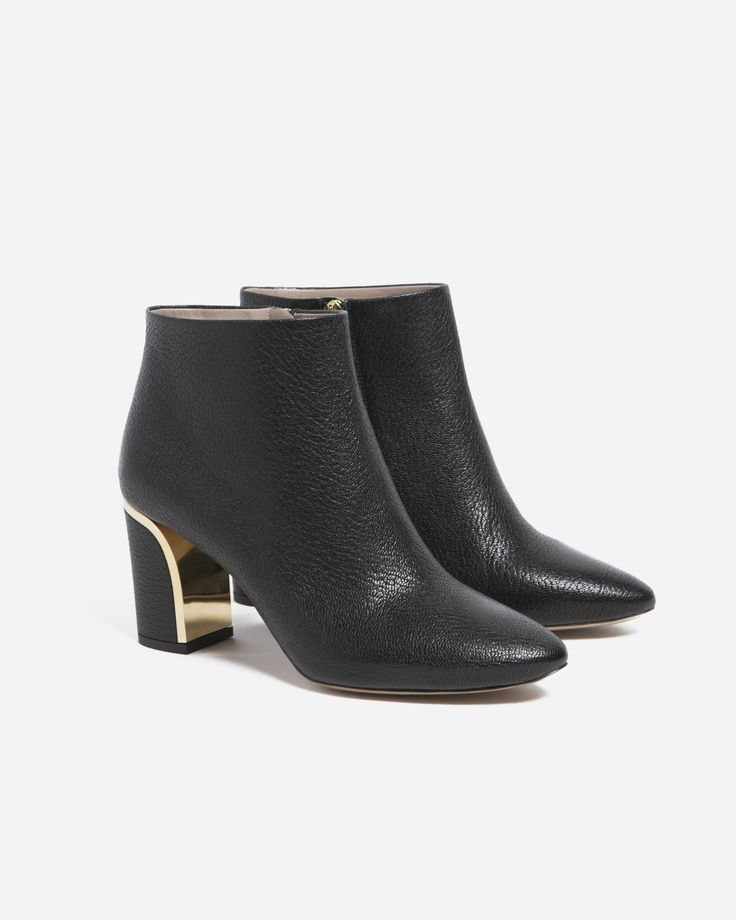 Chloé Beckie Leather Ankle Boot