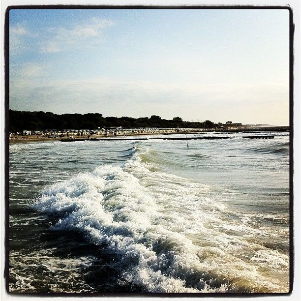 #waves, #Caorle, #italienholiday