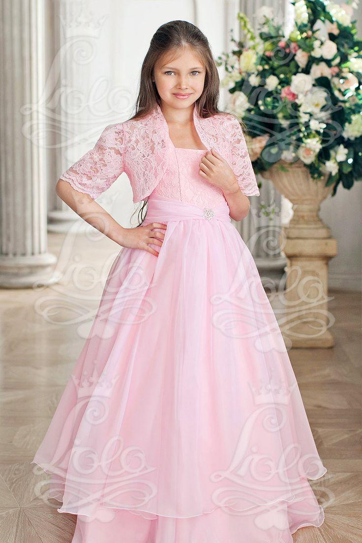 Платье Liola ua-132-2 Отделка: пояс, брошь Материал: Шифон/гипюр в комплекте болеро ажур http://lnk.al/3OdZ