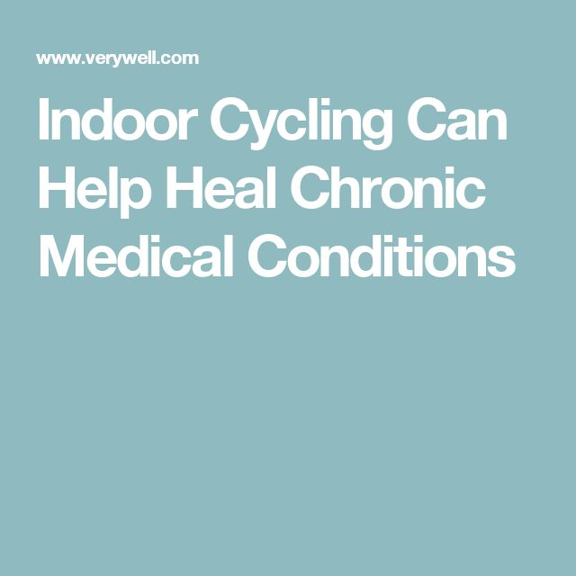 Indoor Cycling Can Help Heal Chronic Medical Conditions