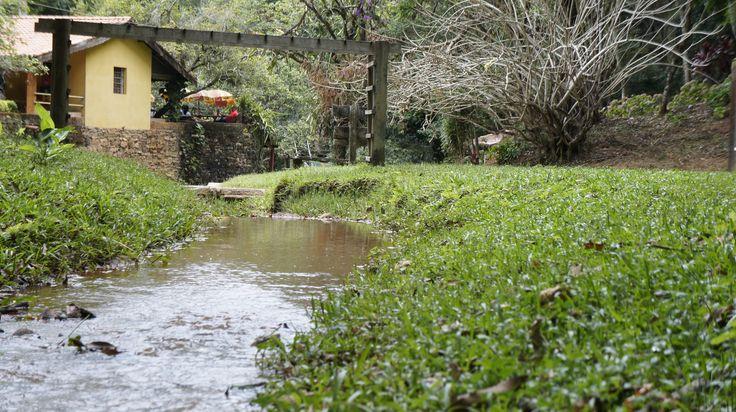 Stream at Aguas de Lindoia - Brazil